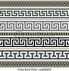 greek key tile - Google Search