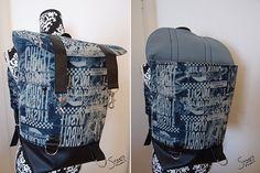 """Rucksack """"Pakke"""" von Sweets & Fabric: http://de.dawanda.com/product/92355975-schnittmuster-rucksack-pakke-pdf-ebook"""