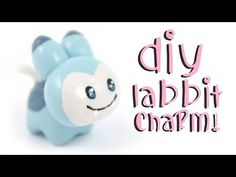 Kawaii Rabbit (from Best Fiends) polymer clay tutorial