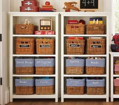 Let them store their collection of books on a bookcase from Pottery Barn Kids. Shop kids bookshelves and bookcases for keeping the room organized. Pottery Barn Kids, Pottery Barn Bookcase, 4 Shelf Bookcase, Bookshelves Kids, Bookcases, Kids Play Spaces, Play Rooms, Kids Rooms, Wooden Bathroom