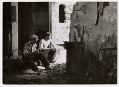 Republican dinamiteros, in the Carabanchel neighborhood of Madrid, June 1937, by Gerda Taro