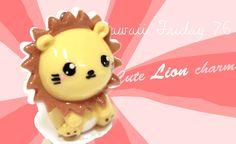 ◕‿‿◕ Cute Lion! Kawaii - Tutorial in Polymer clay!