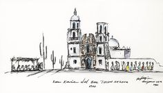 Happy 239th birthday Tucson!  DeGrazia Gallery in the Sun open daily from 10-4; free admission. #NationalHistoricDistrict #DeGrazia #Artist #Ettore #Ted #GalleryInTheSun #ArtGallery #Gallery #Adobe #Architecture #Arizona #AZ #Catalinas #Desert #Tucson #Birthday #Sketches #San #Xavier #Mission #Navajo #Reservation