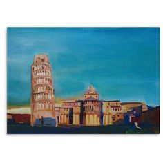 East Urban Home Pisa Original Painting Size: