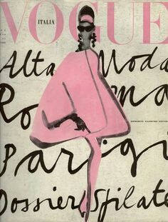 Vogue Italia vintage cover