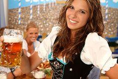 A Beautiful German Beer Girl,Bavarian Oktoberfest festival in Munich. Munich Oktoberfest, German Oktoberfest, German Girls, German Women, Beer Maid, Beer Girl, German Beer, Beer Festival, Best Beer