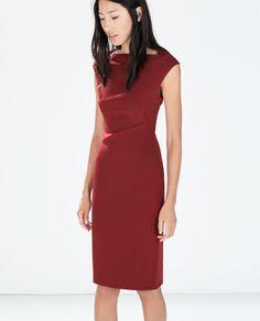 3227d9b70d8 BOATNECK TUBE DRESS Zara Outlet