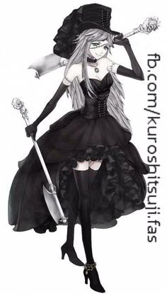 "Does anyone else watch ""Black Butler""? (its anime) Well, I found the Undertaker genderbend!"