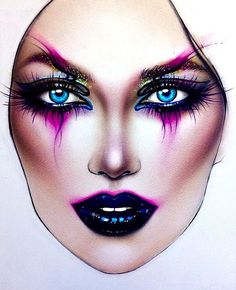 "4,651 Likes, 24 Comments - Sergey X (@milk1422) on Instagram: ""#artist@milk1412  ✨ #mylove #myart #myartistcommunity #myartistcommunityrussia #makeup #makeupart…"""