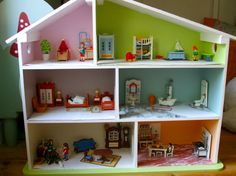 Maison de poupée pour Playmobil
