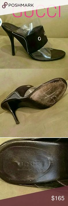📬FREE SHIPPING📬 AUTHENTIC GUCCI BROWN HEEL Great shape.  Gucci brown heel. Gucci Shoes Heels
