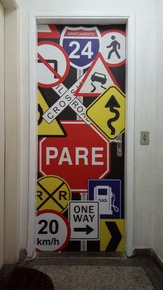 Porta - vinil laminado Logos, Art, Diy House Decor, Art Background, Logo, Kunst, Performing Arts, Art Education Resources, Artworks