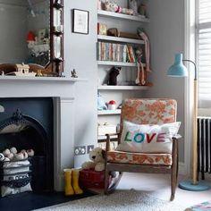 love this rocker. via A CUP OF JO: Nursery inspiration photos