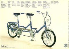 Graziella Tandem folding bike