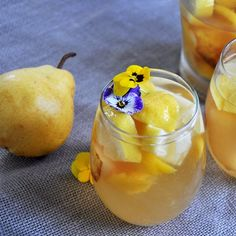 This is the Best White Sangria Recipe that has ever found it's way to our refrigerator and now it can be the same for yours.