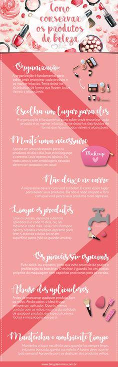 Como conservar os produtos de beleza - Blog da Mimis #produtos #beleza #beauty #beauté #makeup #make