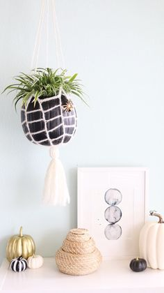 Webbed Hanging Planter | JOANN