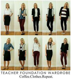 Repeat: Teacher Foundation Wardrobe: Day 10