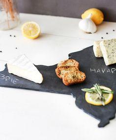 Slate New York Cheese Board