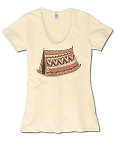SoulFlower-NEW! In Tent Organic T-Shirt-$26.00 #letlifeflow #soulflowercontest