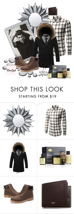 """""""Rosegal #10"""" by almedina-86 ❤ liked on Polyvore featuring Baccarat, The Art of Shaving, Mulberry, men's fashion, menswear and rosegal"""