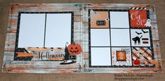 """Capture your favorite Halloween ghosts and goblins this season with this two-page layout kit using the Simple Stories """"Happy Haunting"""" collection. This kit includes full color instructions and the following..."""