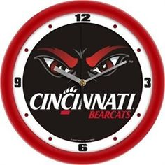 Cincinnati Bearcats Glass Wall Clock