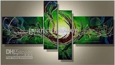 100% hand draw abstract modern oil painting on canvas abstract landfree shipping