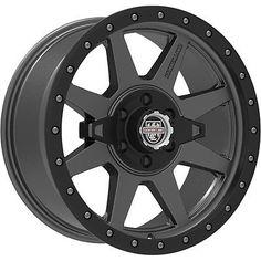 17x8.5 Gray Black RT2 5x5.5 0 Rims Discoverer STT Pro 315/70/17 Tires