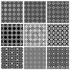 Seamless Geometric Patterns Set. - Download From Over 30 Million High Quality Stock Photos, Images, Vectors. Sign up for FREE today. Image: 42984238