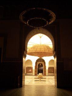 Museo di Marrakech_lampadario gigante