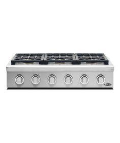 Kitchenaid 6 Burner Gas Cooktop kitchenaid - 6 burner gas - 2 20k btu burners, 2 14k burners, 5k