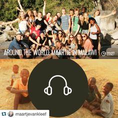 #Repost @maartjevankleef  Bucketlist goal  op de radio geweest! Live in the uitzending bij Menno Barreveld. Met mijn around the world nummer: Shine van Years & Years. Wat 2 weken Malawi niet allemaal met je kan doen. #malawi #retards #worldmapping #qmusic #aroundtheworld #bucketlist by worldmapping