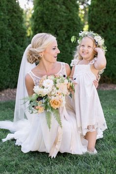 This cutie pie! http://www.stylemepretty.com/2015/10/08/blowing-rock-north-carolina-mountain-town-wedding/ | Photography: Almond Leaf Studios - http://almondleafstudios.com/