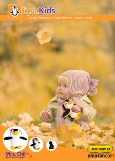 Chil can be a great company for your kid this Autumn! Soft toy, stuffed penguin from EpicKids Toy Hammock, Little Dolly, Work From Home Moms, Gifts For Boys, Pet Toys, Mom And Dad, Cool Kids, Penguins, Boy Or Girl