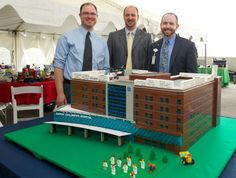 With a little more than a month for planning and construction, a team of 30 volunteers set out to achieve the unthinkable – construction of the new critical care tower at the Akron campus.Did we mention they built the critical care tower using LEGO®?