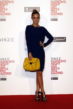 el photocall de Vogue Fashions Night Out: Alba Ribas