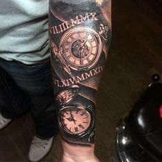 Taken from The Tattoo Page FB posts. I'm digging the pocket watch thing lately.