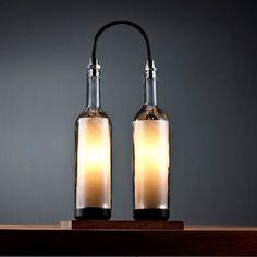 Stylish Wine Bottle Lamps