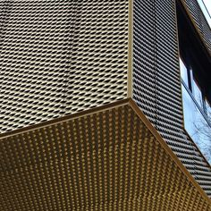 Munich, Golden Expanded Metal by Detlef Schobert, via Flickr