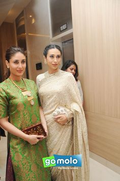 Kareena Kapoor Khan & Karisma Kapoor at 19th The Golden Elephant International Children's Film Festival (ICFFI) in Hyderabad