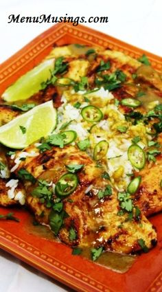 Menu Musings of a Modern American Mom: Coconut Lime Chicken