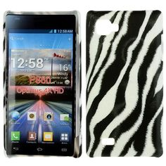 Safari (Zebra Diagonal) LG Optimus 4X HD Cover