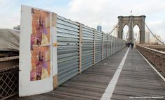 EZO 11' - Brooklyn Bridge - FreshPaintNYC