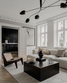 Living Room Interior, Home Interior Design, Interior Architecture, Living Room Decor, Living Spaces, Classic Architecture, Cozy Living Rooms, Apartment Interior, Exterior Design