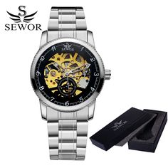 """Custom Series"" Skeleton Wristwatch with customizable design"