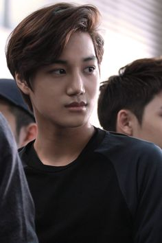EXO Kai. I could caption this, but it wouldn't be appropriate, a certain expletive that begins with a capitol D and ends with a capitol M<3