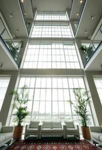Take a former car factory, add lots of natural light and a pinch of Renzo Piano design. Shake well and serve slightly chilled: today's Favourite Hotel is Hotel NH Lingotto Tech in Turin, Italy.  Suggested by the ToucHotel Community of Hotel-aholics :)