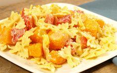 Recipe Mini Farfalle with Butternut Squash, Fresh Tomatoes and Basil   Barilla