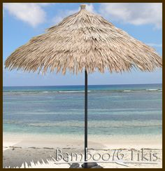 Synthetic Thatch Umbrella Palapa. Made of Polyolefin, our synthetic thatch panels are low maintenance and have a lifespan of 10+ years depending on climate. . Enjoy the look of real Palm indoors or out.